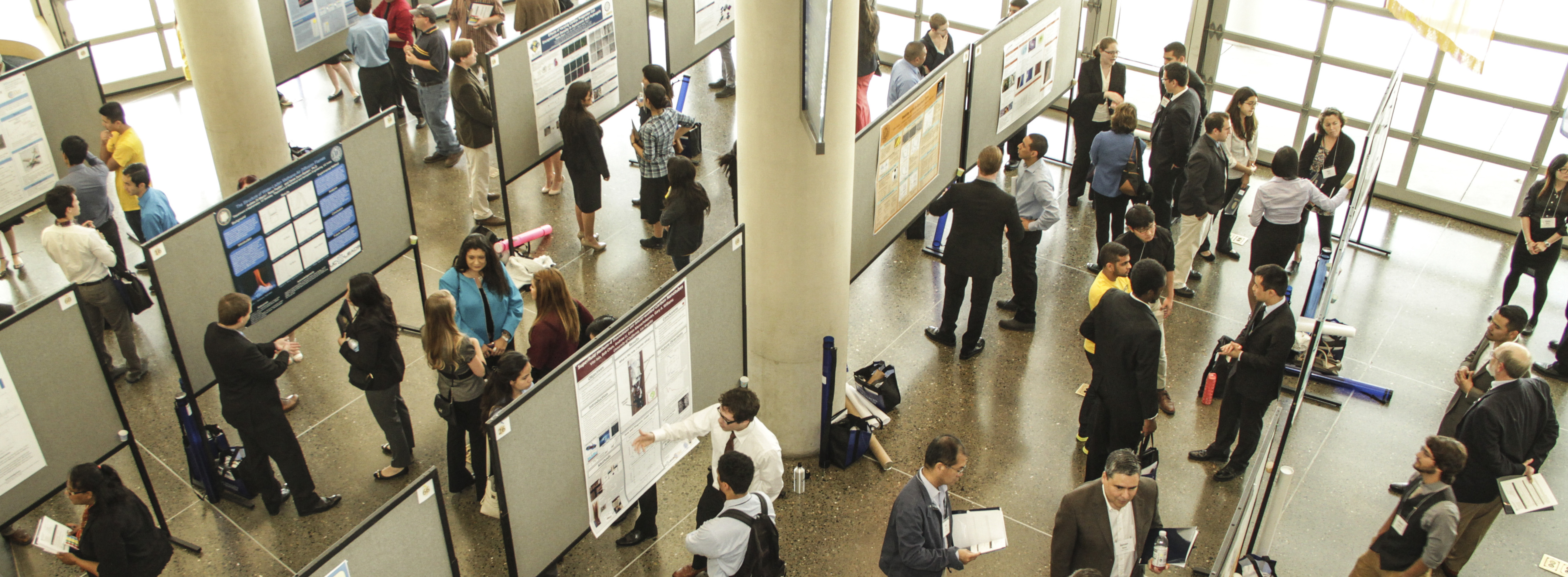 Scholars Poster Session during UROC's Annual Summer Research Symposium