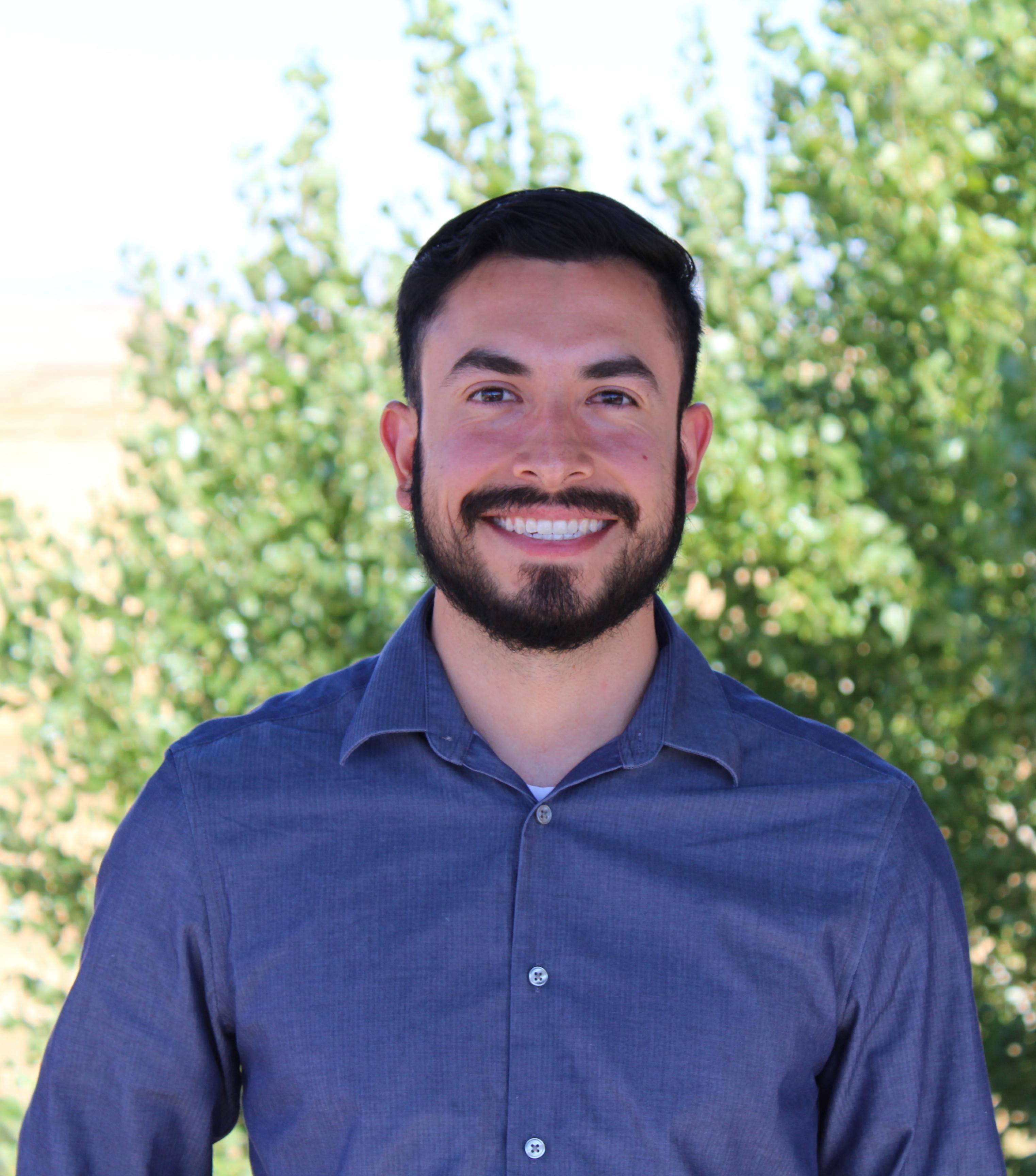 Program Assistant, Estevan Beltran