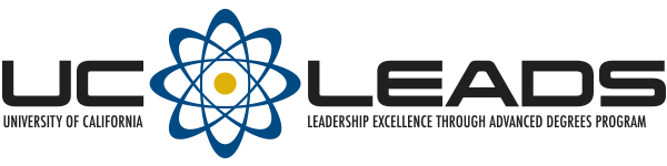 University of California Leadership Excellence Through Advanced Degrees Program (UC LEADS) Logo