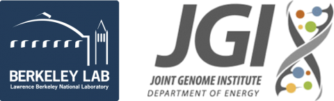 Berkeley Lab and Joint Genome Institute (JGI) Logo