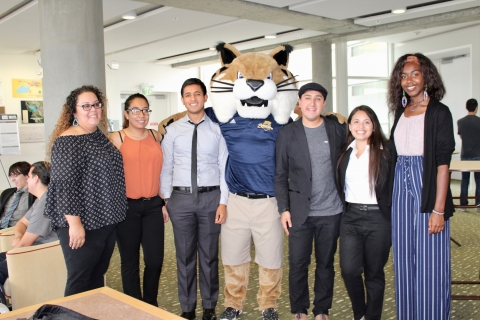 2017 Summer Cohort with Rufus at the 11th Annual Research Symposium