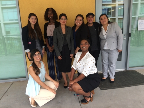 Summer 2017 Cohort at the 11th Annual Research Symposium