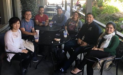 Summer 2017 Cohort enjoying refreshments