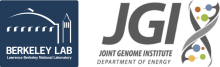 Berkeley Lab and Joint Genome Institute (JGI) Logo